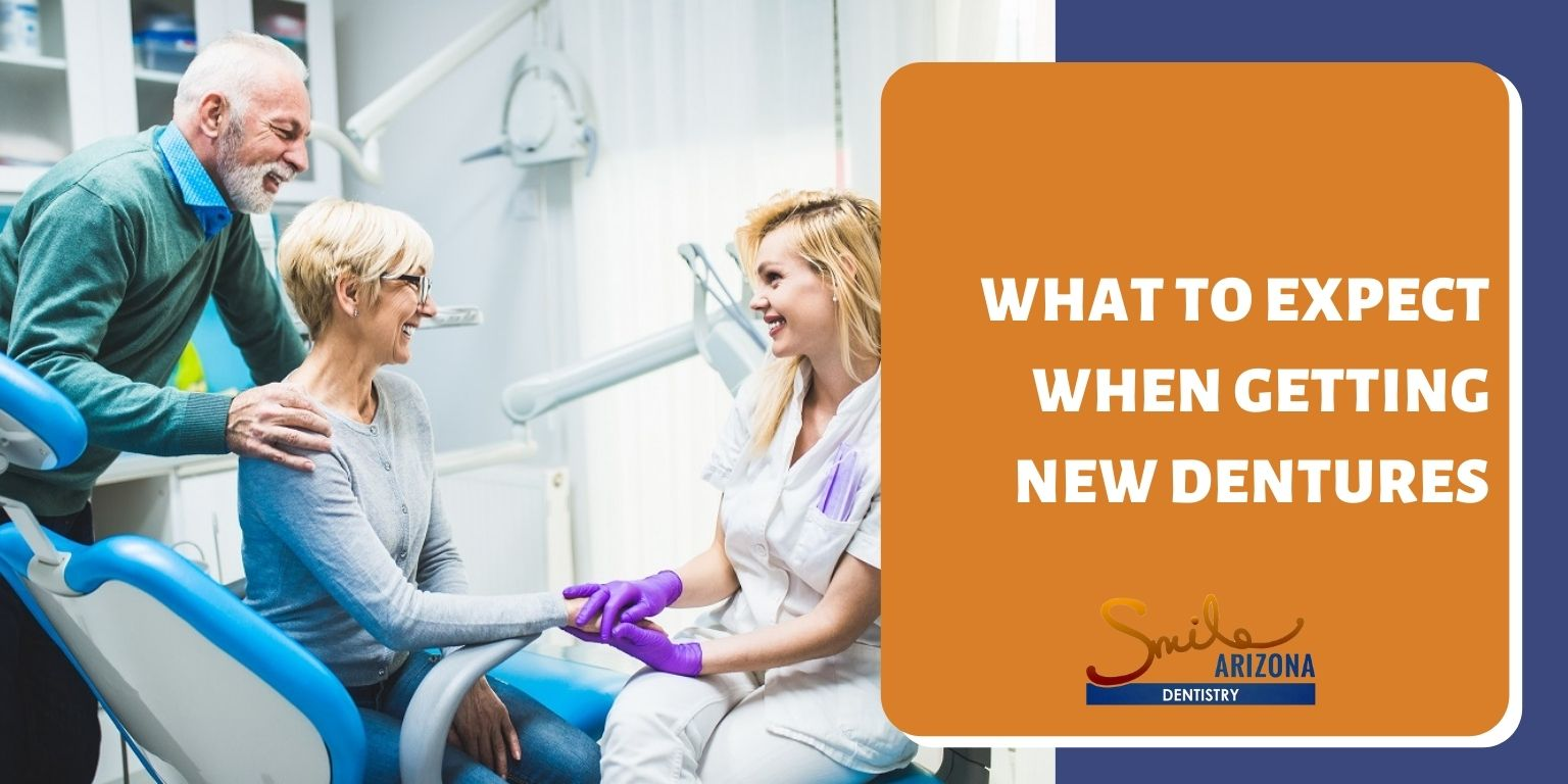 What To Expect When Getting New Dentures