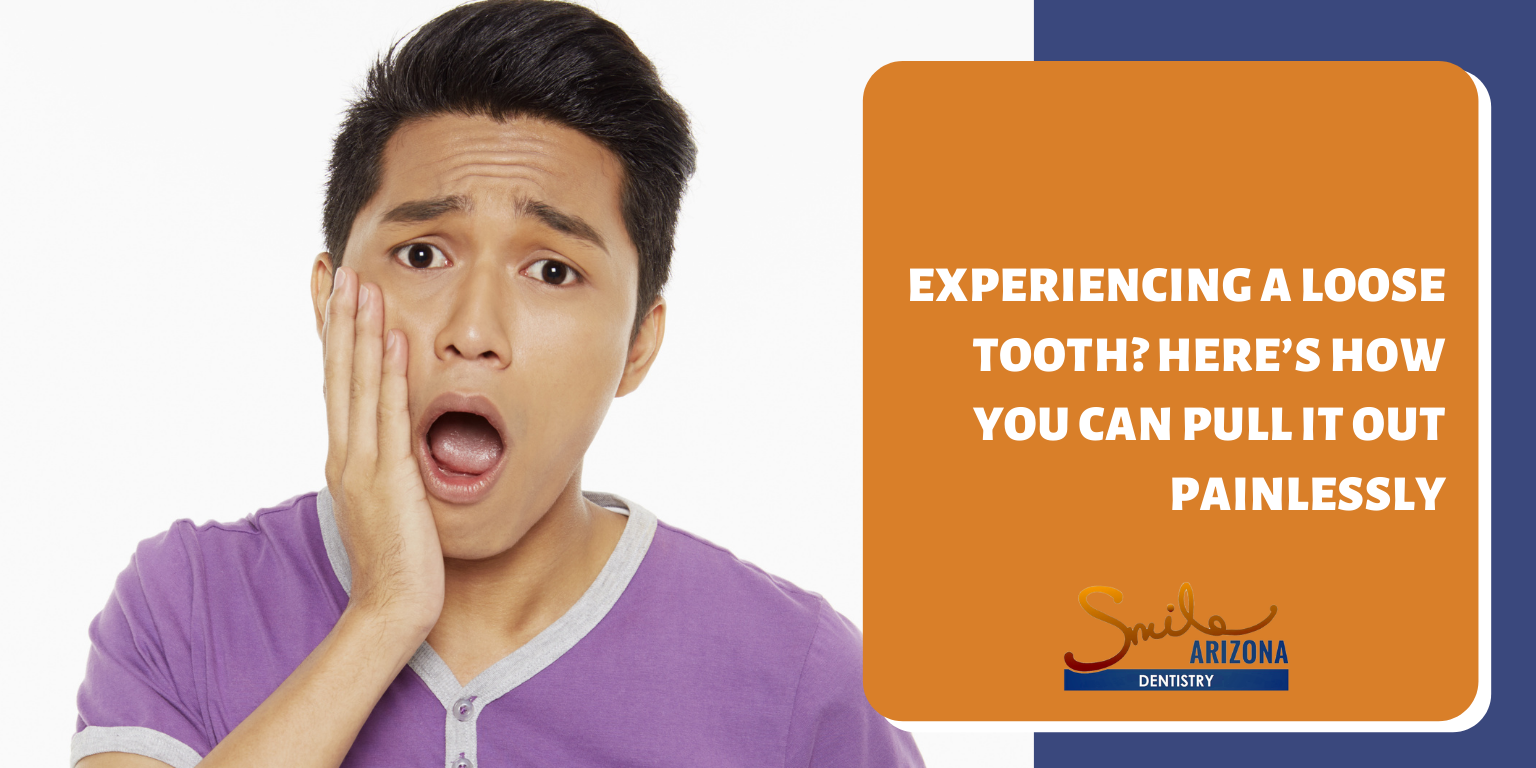 Experiencing a Loose Tooth? Here's How You Can Pull It Out Painlessly