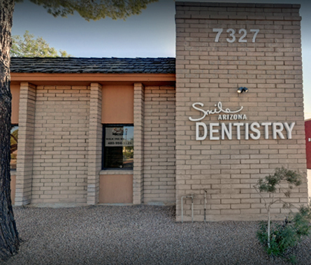 Smile Arizona Dentistry building front